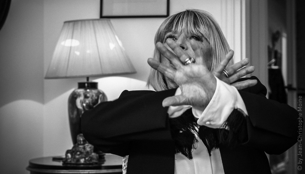 Marianne Faithfull, screenshot vidéo, by Jean-Christophe Moine