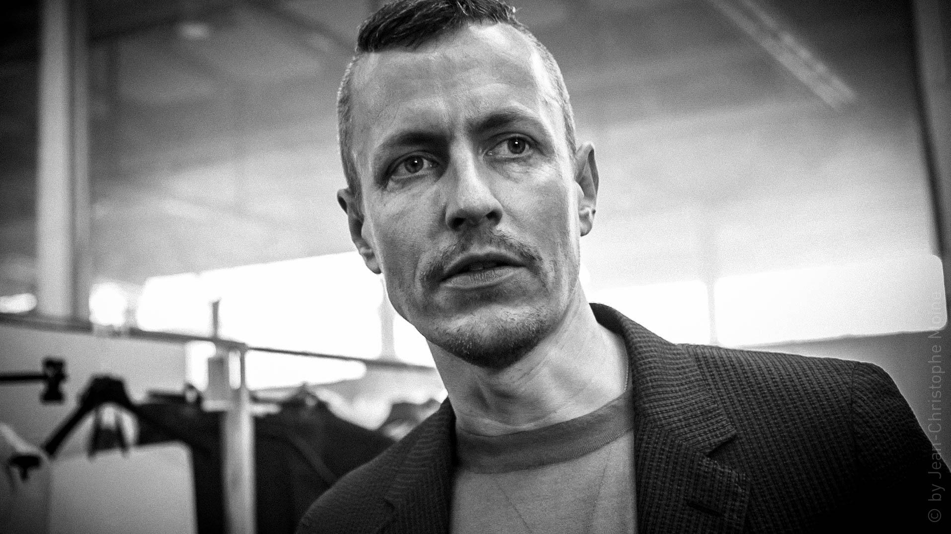 Lucas Ossendrijver, Lanvin - Screenshot d'une vidéo de Jean-Christophe Moine
